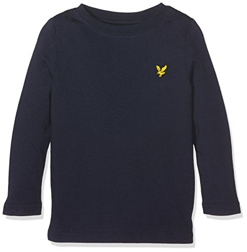 lyle-scott-baby-jungen-t-shirt-classic-long-sleeve-blau-deep-indigo-98-herstellergrosse-24m