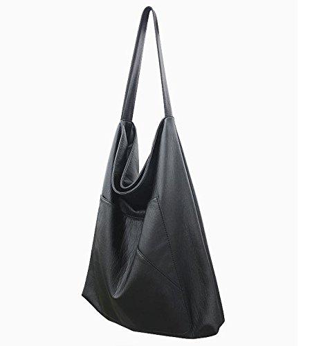 ZY Moda borse di qualità. : Borse donna. Borsa a tracolla donna semplice. Borse borsa tempo libero , black