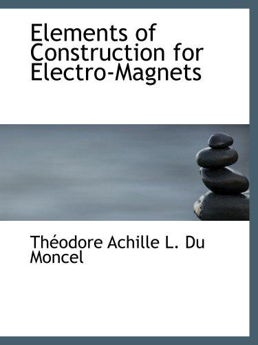 Elemente des Aufbaus für Elektro-Magnete