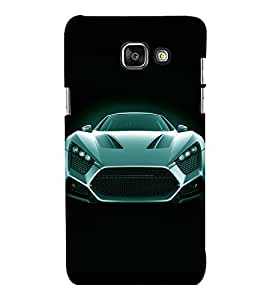 printtech Superfast Car Back Case Cover for Samsung Galaxy A7 2016 Edition