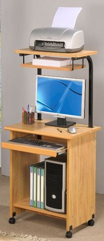 Buy Low Price Comfortable Functional Computer Desk in wooden Finish PDS F40242 (B004RIXARQ)