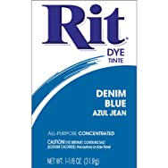 Phoenix Brands 36 Rit Tint And Powder Dye-DENIM BLUE POWDER DYE