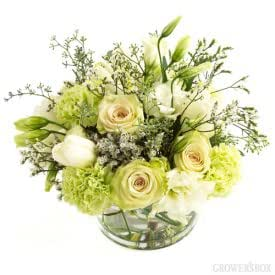 Green Wedding Flowers Collection 6 Centerpiece Package
