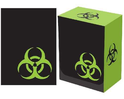 Legion Iconic 100 Sleeve and Box Bundle - BIOHAZARD - Bio-Hazard
