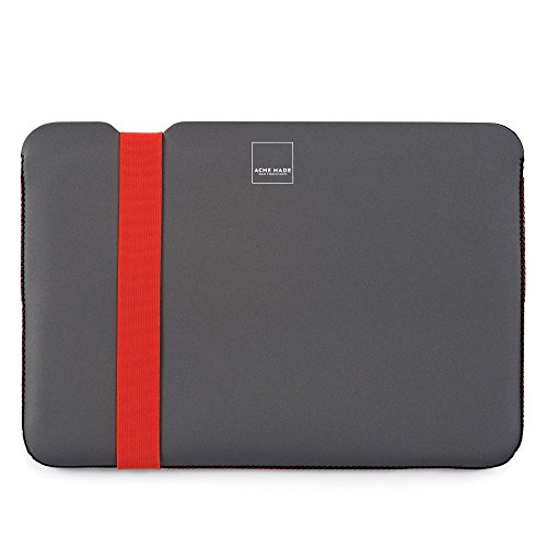 Acme Made AM36925 - Skinny Sleeve for MacBook 12-Inch (Grey/Poppy Orange) (Acme Made Mac Book Pro 13 compare prices)