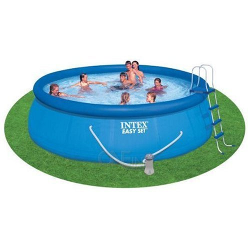 Hot Deals 15 39 X 42 Above Ground Swimming Pool Complete Set By Intex For Above