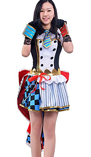 [Women's Halloween Deluxe 1:1 LoveLive Sonoda Umi Costume French maid (Custom Size)] (Custom French Maid Costumes)