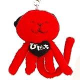 【ひだっち】ストラップ★μ(ミュー)飛騨高山ゆるキャラ!カラーバージョン (赤(ノーマル))