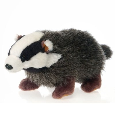 Ten Inch Badger Stuffed Animal