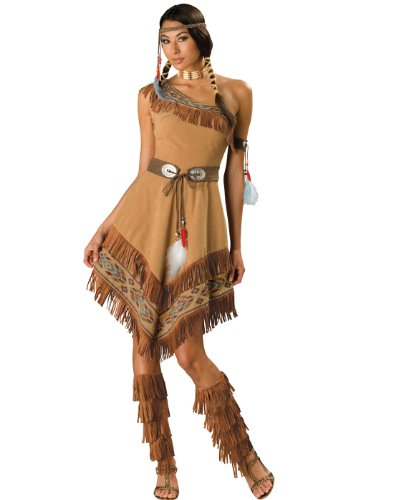 InCharacter Native Amerian Indian Maiden Costume