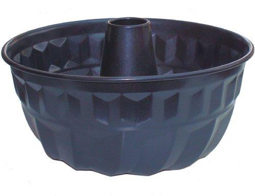 Kugelhopf Tin Traditional Deep Tube Pan, Endurance Non Stick, for Cakes and Bread