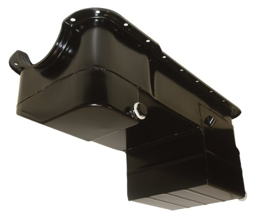 1979-93 Ford 302 5.0 Mustang Drag Racing Oil Pan - Black (Mustang Oil Pan compare prices)