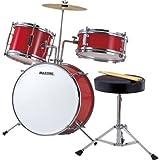 マックストーン ジュニアドラムセット(レッド) MX-50-RED