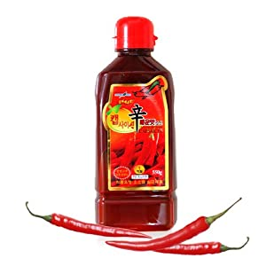 Amazon.com : Korean Capsaicin Sauce 550g : Hot Sauces : Grocery