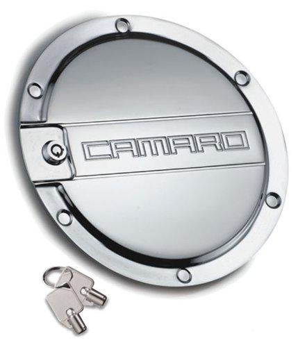 T-Rex 6910062 Defenderworx Chrome Locking Gas Door with Camaro Logo (Defenderworx Camaro compare prices)