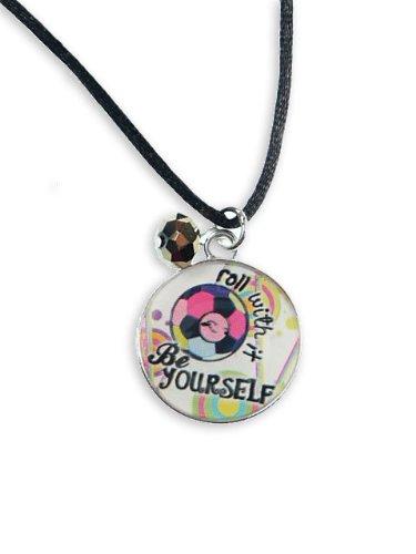 Sideways necklace