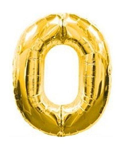 Mondial-fete - Ballon 0 or 38 cm