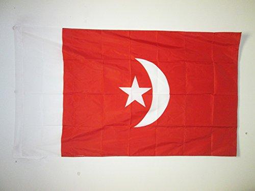 BANDIERA UMM AL-QAYWAYN 150x90cm - BANDIERA EMIRATI ARABI UNITI 90 x 150 cm foro per asta - AZ FLAG
