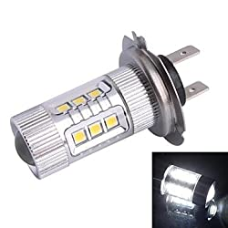 See H7 80W 12xLED SMD 680LM 6500K White Light LED for Car Foglight Headlamp (DC12-24V) Details