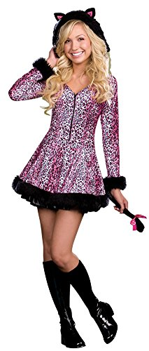 Girls - Pretty Little Kitten Jr Lg Halloween Costume - Child Large