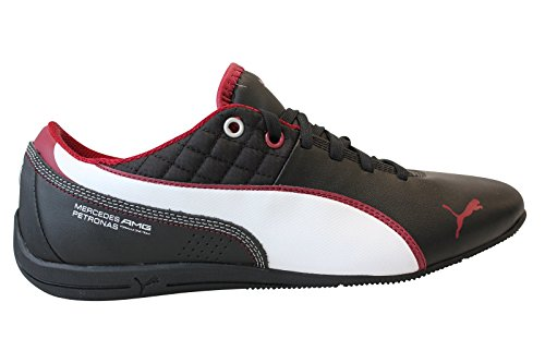 Puma-Mens-Drift-Cat-6-Mamgp-Black-Leather-Boat-Shoes-6-UKIndia-39-EU