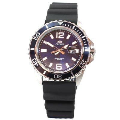 ORIENT Uhr Deep Quarz Herrenuhr blau Datum Neues Modell Kautschuk FUNE3005D0