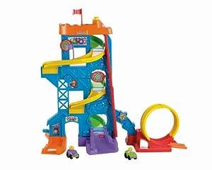 Fisher-Price Little People Wheelies Loops 'n' Swoops Amusement Park
