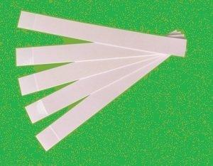 Julimex Fashion-Klebestreifen, Farbe: Durchsichtig, Größe: 2 cm x 7,5 cm