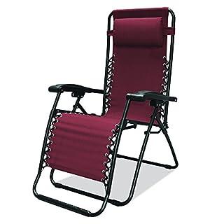 Caravan Sports Infinity Zero Gravity Chair, Burgundy