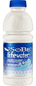 SoBe Lifewater Pacific Coconut with Coconut Water, 20 oz. (Pack of 24)