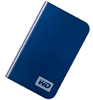 Western Digital WDME5000TE My Passport Essential 500GB USB 2.0 Portable Hard Drive -Midnight Black by Western Digital