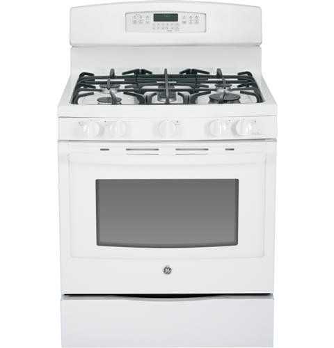GE-JGB770DEFWW-30-White-Gas-Sealed-Burner-Range-Convection