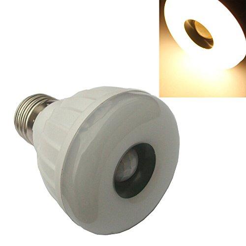 Ljy E27 5W Pir Infrared Motion Detection Sensor Led Warm White Light Bulb