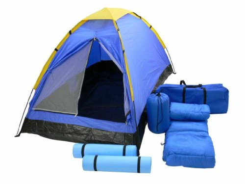 Yellowstone Newhaven Camping Set - Blue