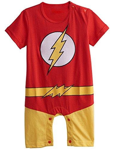 A&J Design Baby Boys' The Flash Costume Romper (12-18 Months) (Aj 16 compare prices)