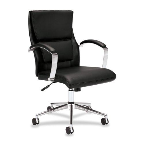 HON VL106 High-Back Executive Task Chair for Office or Computer Dest, Black