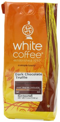 White House Roasted Coffee Dark Chocolate Truffle Ground 12-Ounce Bags Pack of 3B001D20DU6