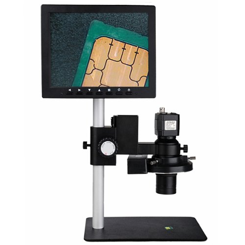 Yuan Video Microscope With 8-Inch Lcd Screen&Tv Interface(7X-50X)-220V