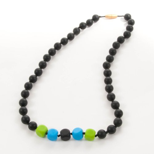 Sassy Baby Beads Mommy And Baby Silicone Chew Teething Beads Necklace - Ocean