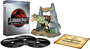 Jurassic Park Ultimate Trilogy - Limited Ultimate Collector's Edition (Blu-ray + Digital Copies + T-Rex Model) [Region Free]