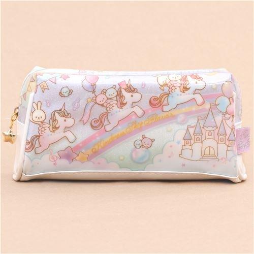 Trousse--crayons-multicolore--paillettes-avec-des-licornes-animaux-chteaux