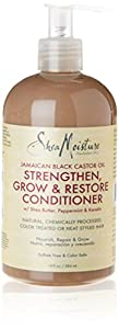 Shea Moisture Jamaican Black Castor Oil Grow & Restore Rinse Out Conditioner 13oz