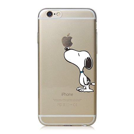iPhone Cover di licaso® per il Apple iPhone 6 & 6S di TPU Silicone Snoopy Peanuts Charly Brown Modello molto sottile protegge il tuo iPhone & con stile Cover e Bumper (iPhone 6 6S, Snoopy)