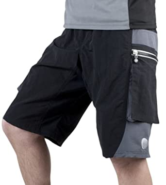 ATD Outlaw Bullet Cycling Short Grey SMALL