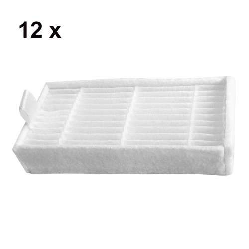 Cimc Llc Replacement Hepa Filter For Dibea X500 Ecovacs Cr120 12 Pack Vacuum Cleaner Hepa Filter front-625422