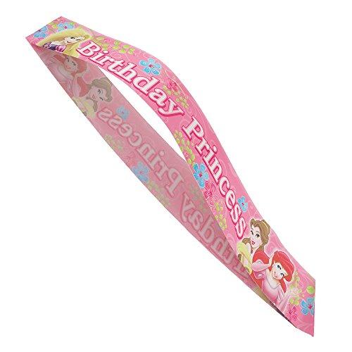 Unique Disney Princess Birthday Sash Novelty