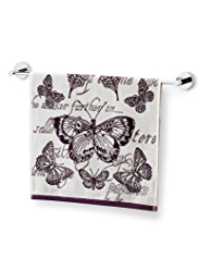 Curiosity Butterfly Towel