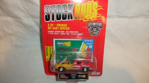 RACING CHAMPIONS STOCK RODS TERRY LABONTE ISSUE # 99 1963 CORVETTE #5 KELLOGG'S CORN FLAKES DIE-CAST REPLICA by Racing Champions