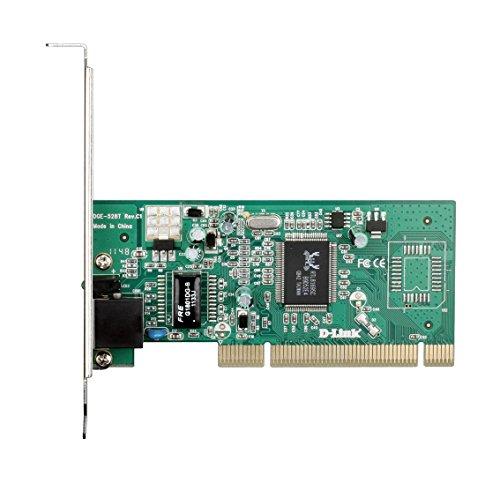 D-Link DGE-528T Scheda di Rete Gigabit Ethernet, 10/100/1000Mbps, Nero