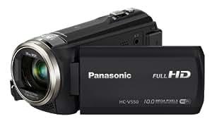 Panasonic HC-V550CTEBK Full HD Camcorder - Black (10MP, 90x Intelligent Zoom, Wi-Fi, NFC) 3.0 inch LCD (New for 2014)